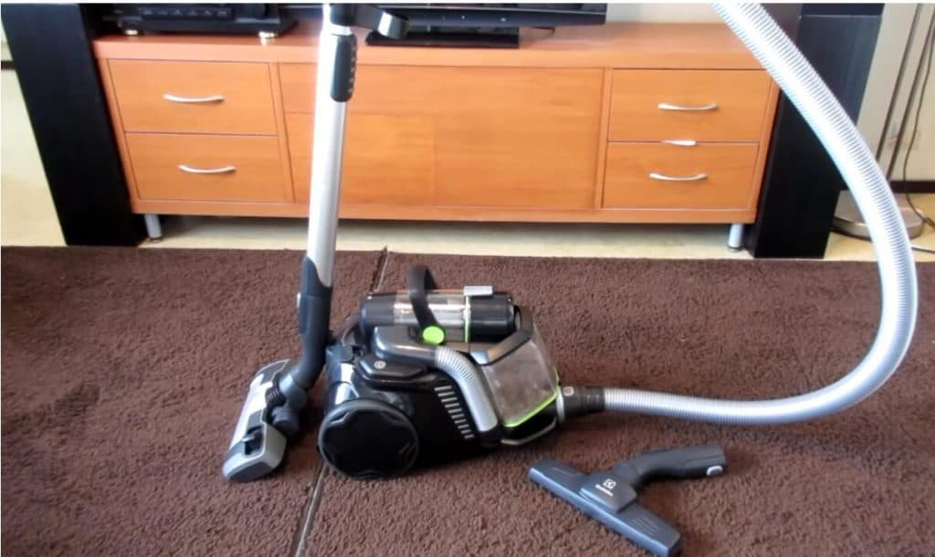electrolux vacuum canister