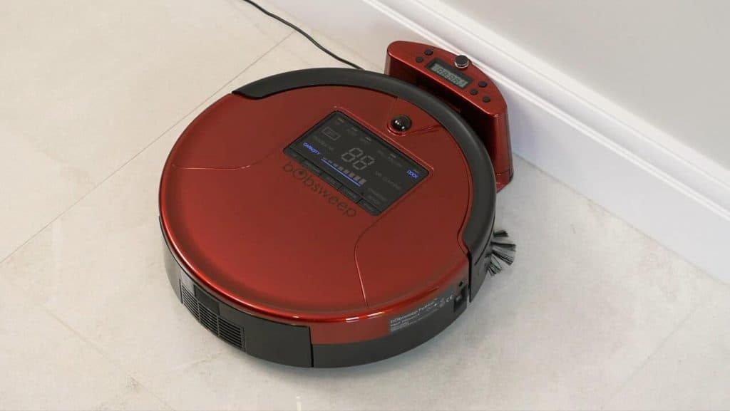 BObsweep Robotic Vacuum Cleaner With Mop