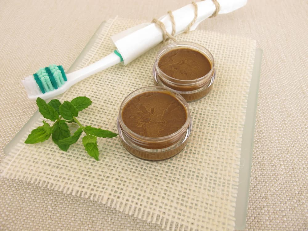 Chocolate Mint Homemade Toothpaste