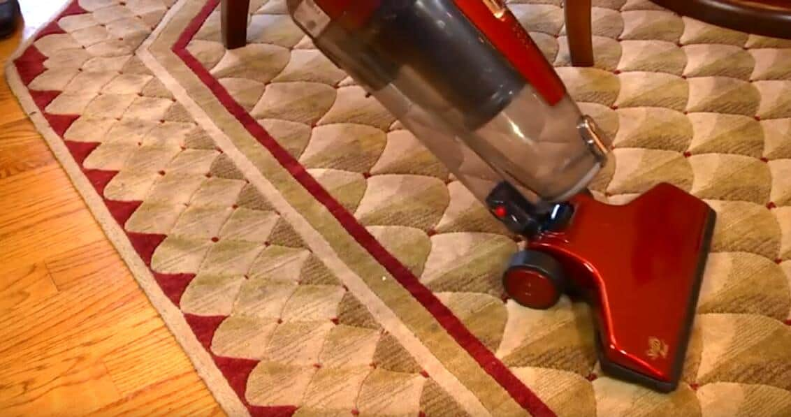 Fuller Brush corded stick vacuum cleaner