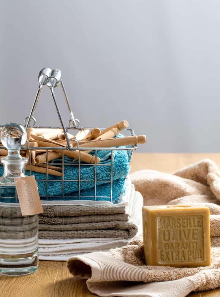 Homemade Laundry Soap Softener With Vinegar