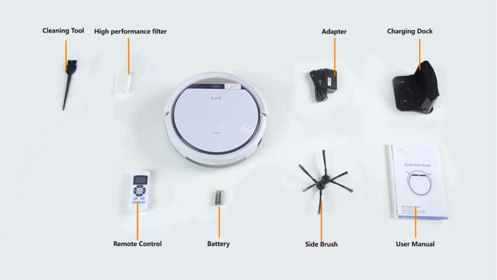 ILIFE V3s robotic vacuum review