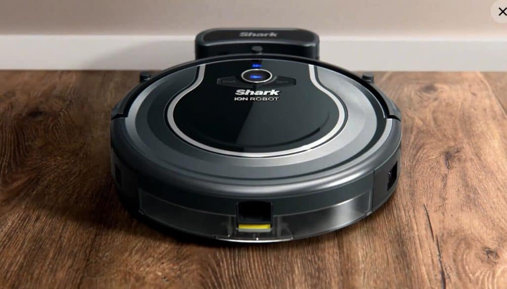 SHARK ION R75 robotic vacuum for pet hair review