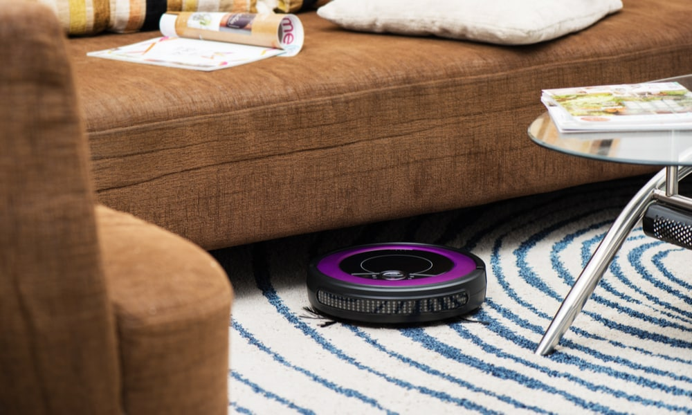 carpet cleaning robot