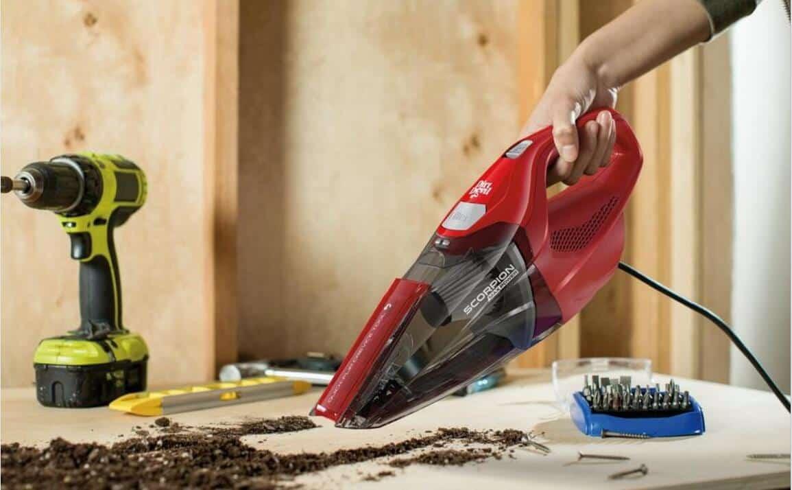 dirt devil hand vacuum for pet hair