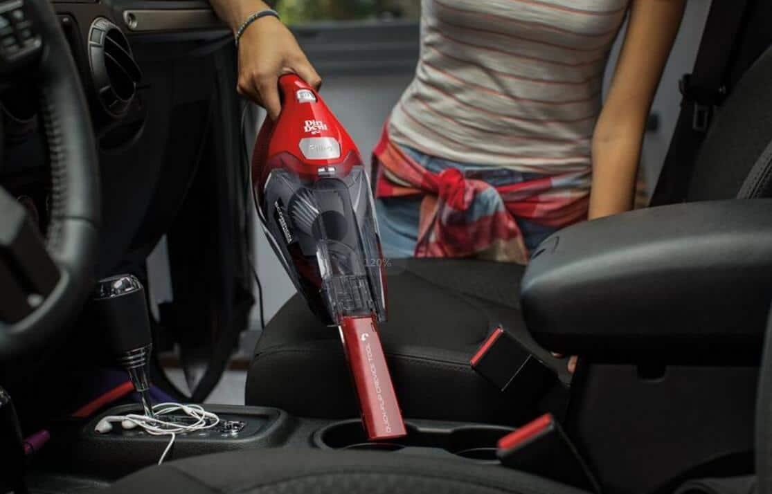 dirt devil scorpion quick flip corded bagless handheld vacuum for pet hair
