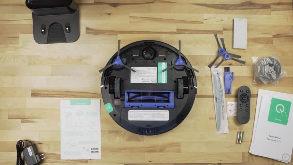 eufy 11S robot vacuum for hardwood floor review