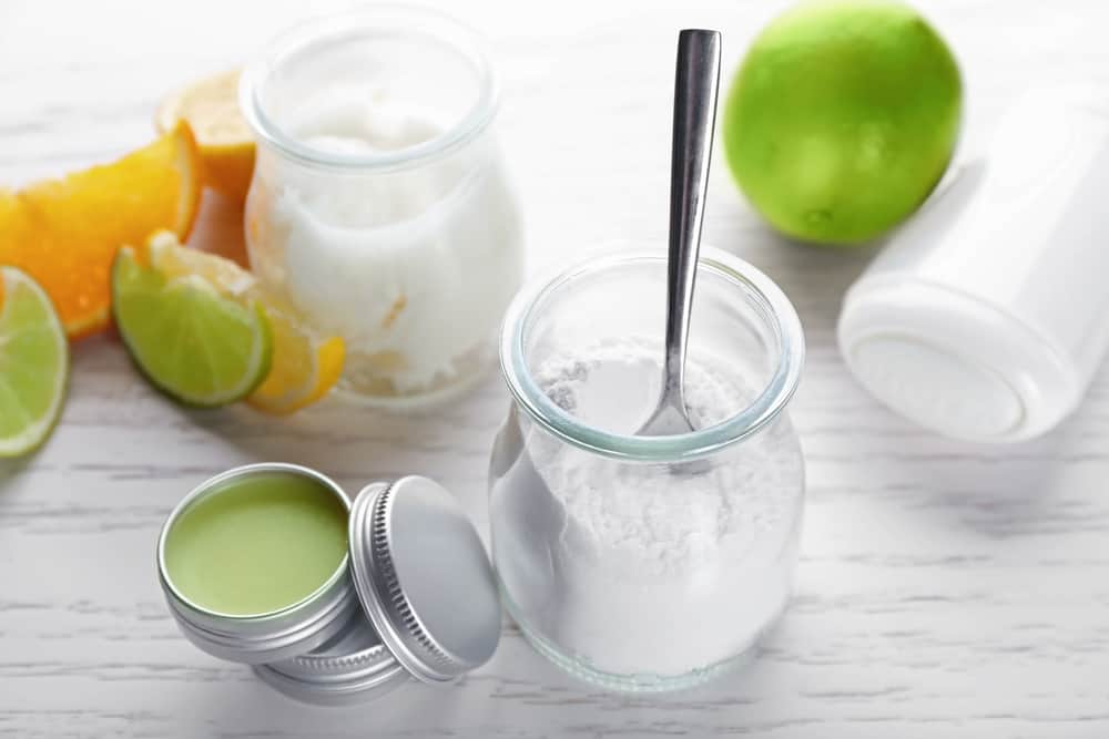 homemade Solid natural deodorant