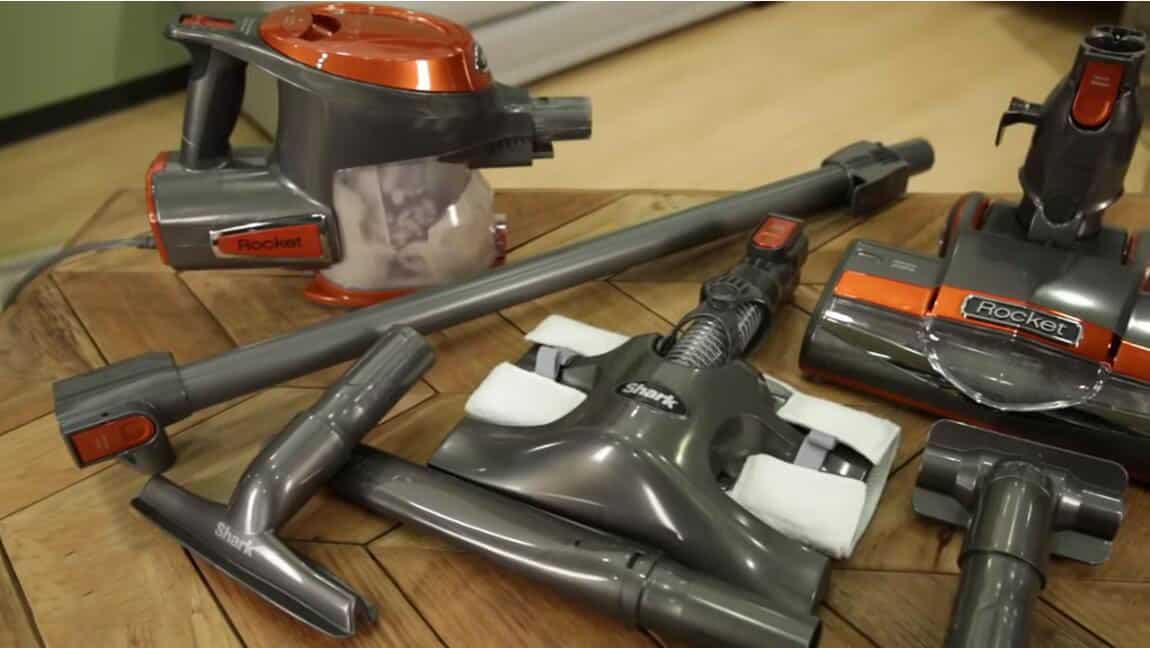 shark rocket hv302 corded stick vacuum cleaner