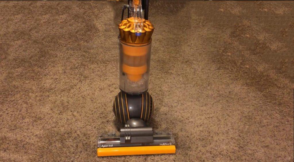 Dyson Ball Multi Floor 2 upright vacuum test