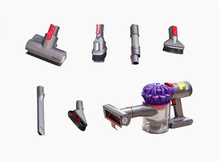 dyson V7 car+boat vacuum cleaner for stairs