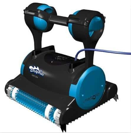 Dolphin Premier robot Pool Cleaner with Caddy and Swivel Cable