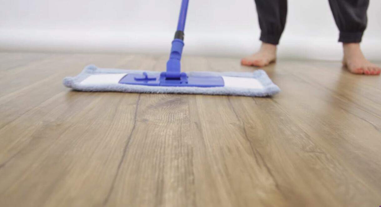 Sweeping and Dry Mopping