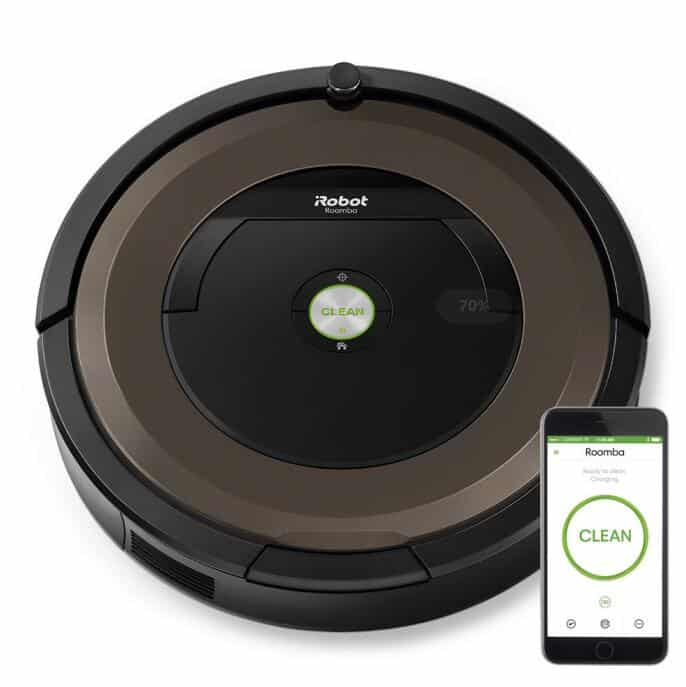 iRobot Roomba 890 robot vacuum cleaner for hardwood floors