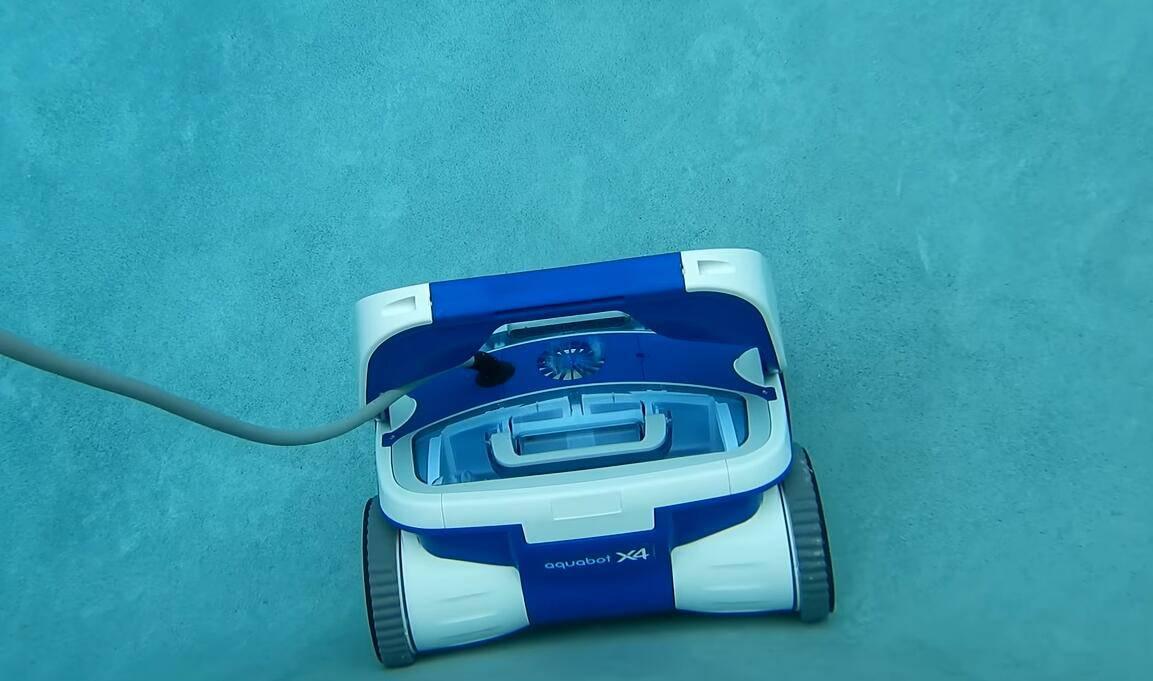 Aquabot X4 robotic pool vacuum cleaner