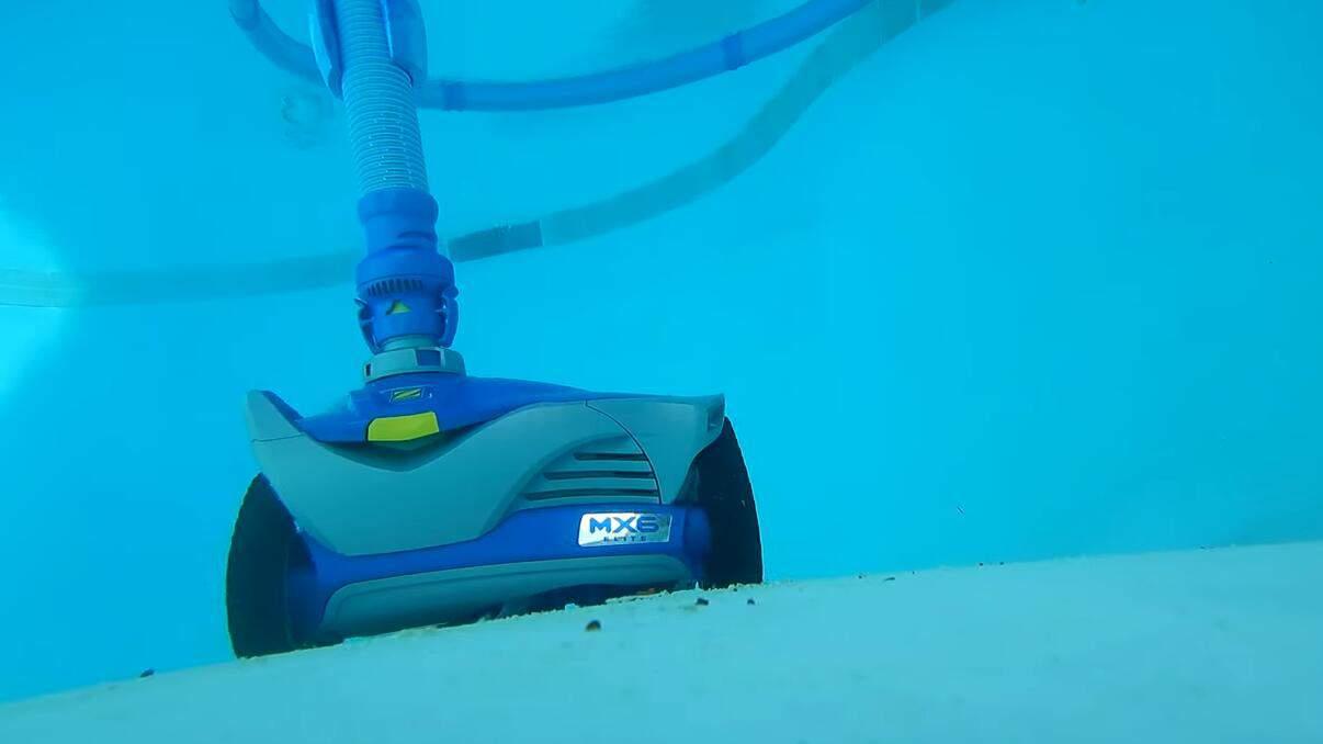 Zodiac MX6 robotic pool vacuum cleaner