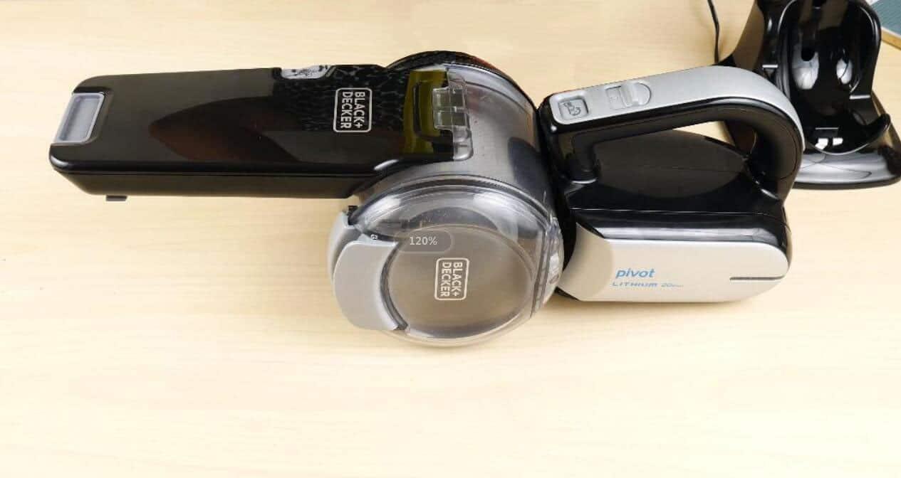 black+decker car vacuums