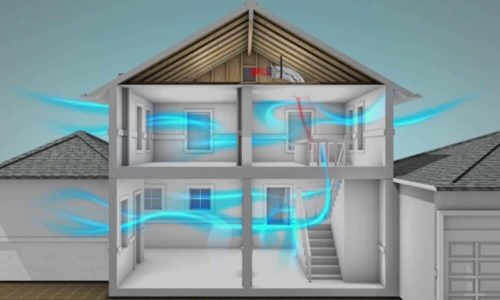 How to cool upstairs of a 2-story home