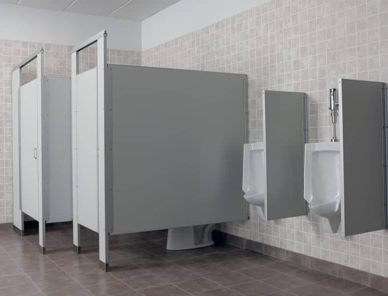 Install Bathroom Stalls